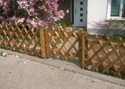 Holzzaun Garten und Landschaftsbau Winnen