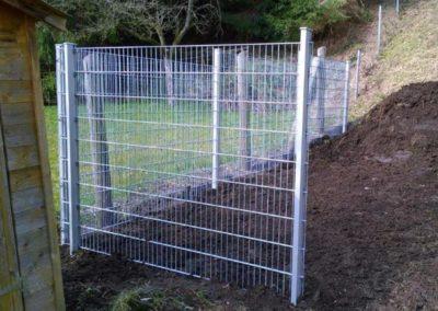 Metallzaun Garten und Landschaftsbau Winnen